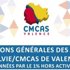 Nouvelles conditions générales des Activités SLVie et CMCAS de Valence