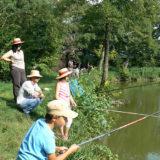 Journée familiale à l'étang