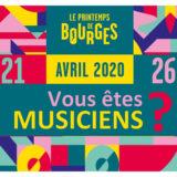 Appel à candidatures – Printemps de Bourges