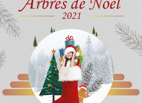 Les arbres de Noël 2021
